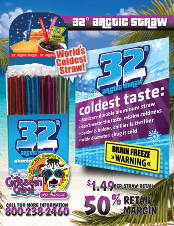 32 Arctic Straw - Aluminum Straw