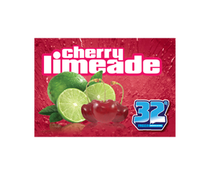 32 Degree Cherry Limeade Slushy Flavor