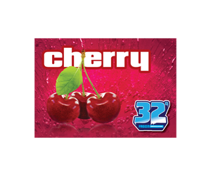 32 Degree Cherry Slushy Flavor