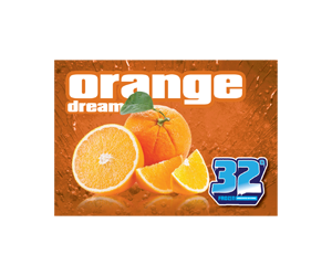 32 Degree Orange Slushy Flavor