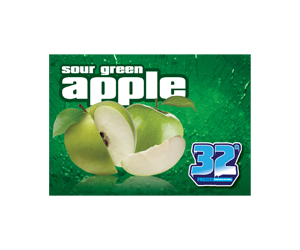 32 Degree Sour Green Apple Slushy Flavor