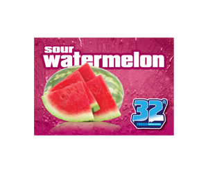32 Degree Sour Watermelon Slushy Flavor