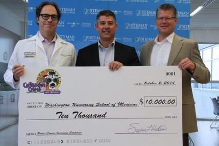 Caribbean Crème Donates to Siteman Cancer Center