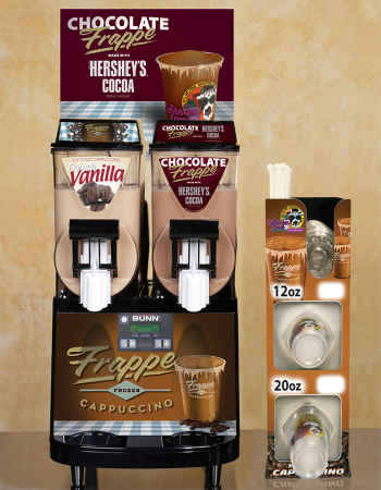 Frappe Cappuccino Chocolate Frappe Hershey's Smoothie